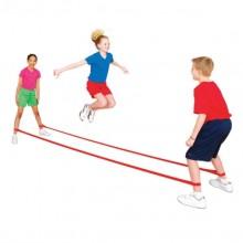 키드짐 - 점프밴드고탄력(1쌍) / 빨강 파랑 노랑 초록 택1/놀이체육/학교용품/패들라켓