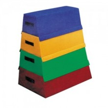 키드짐 - 뜀틀매트(4단) 80X70X50cm