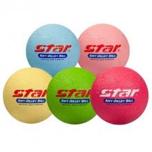 스타 - 소프트발리볼(블루,노랑,핑크)